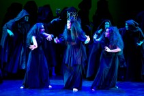 "As ""First Witch"" (left) in Dido and Aeneas (Purcell)"